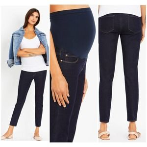 Articles of Society Heather Maternity Cropped Jean